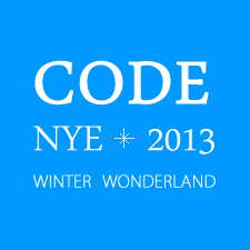 CODE: NYE 2013 - WINTER WONDERLAND